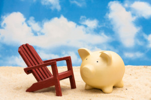 separate savings account for vacation