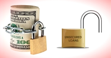 can be secured or unsecured