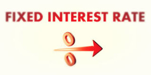 Installment loans have fixed interest rates