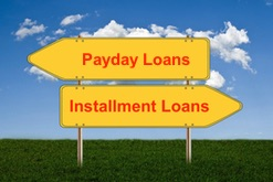 Difference B/w payday & installment loans