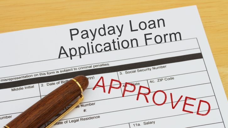 Payday loans application