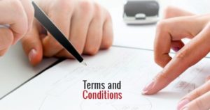 Reading & understanding the terms and conditions is a critical step