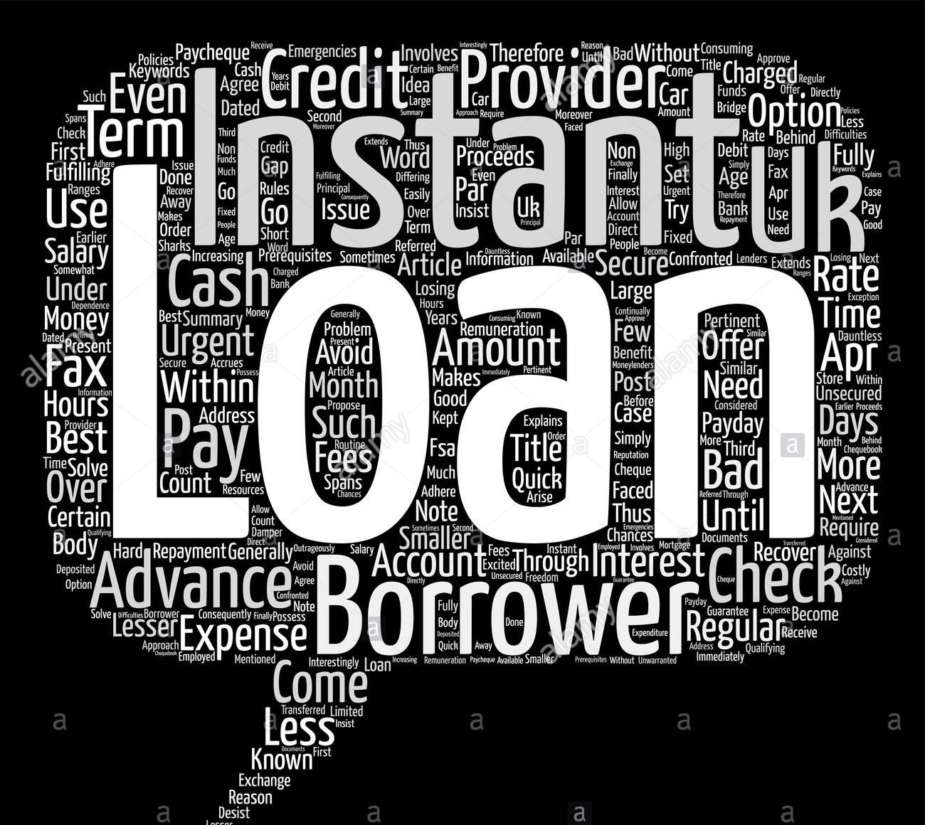 Instant UK loans