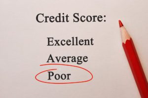 Having bad credit is ok