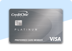 Credit one bank platinum vise Bad Credit Credit Cards low apr and annual fee