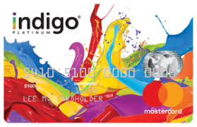 Indigo Mastercard unsecured bad credit credit card